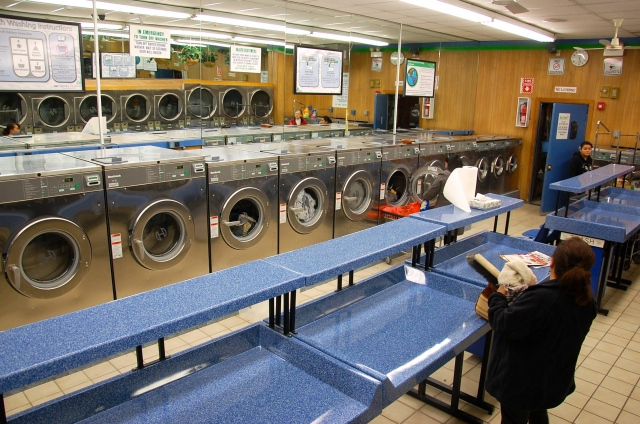 Laundromat renovation completed. Thumbnail