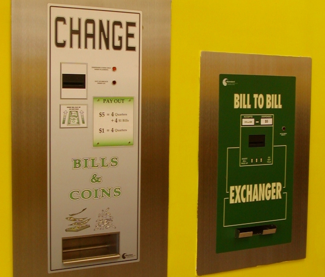 Coin & Bill to Bill Changers Thumbnail