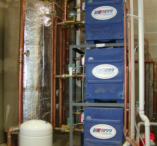 99.8% Efficient Hot Water Heating System Thumbnail
